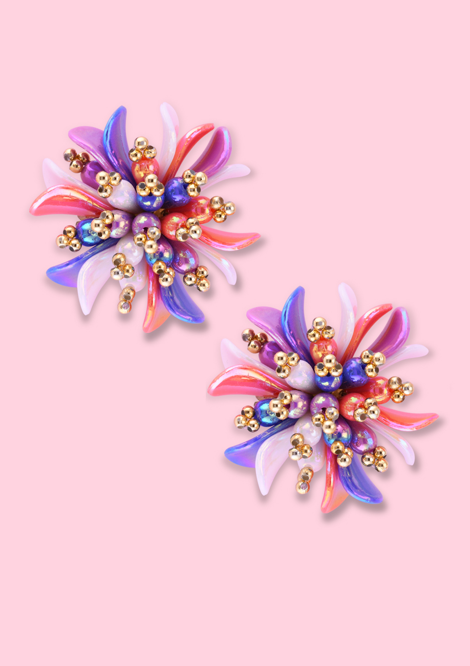 Vintage-Buttercup-clip-on-studs