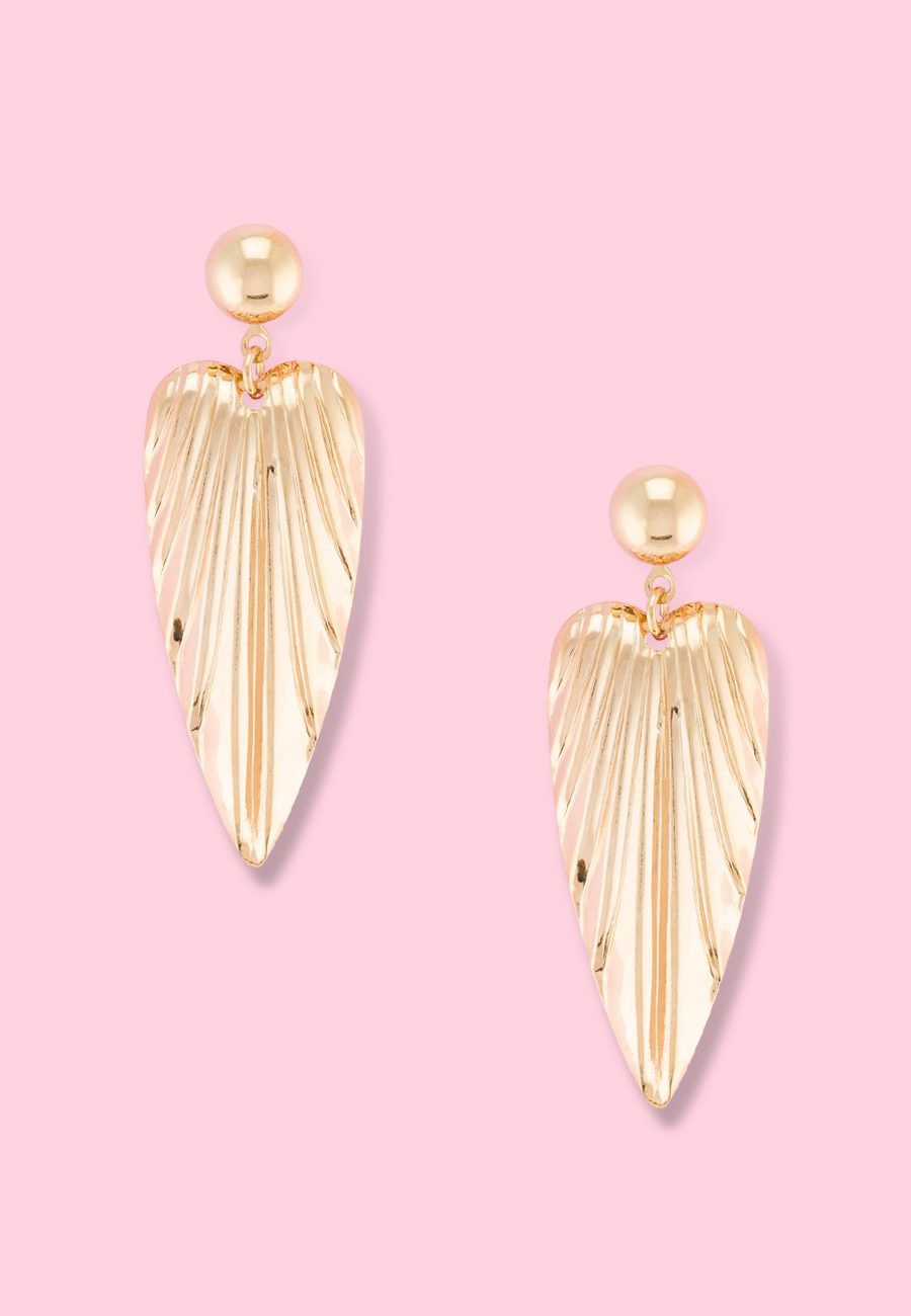 Vintage-Linhea-drop-earrings-gold