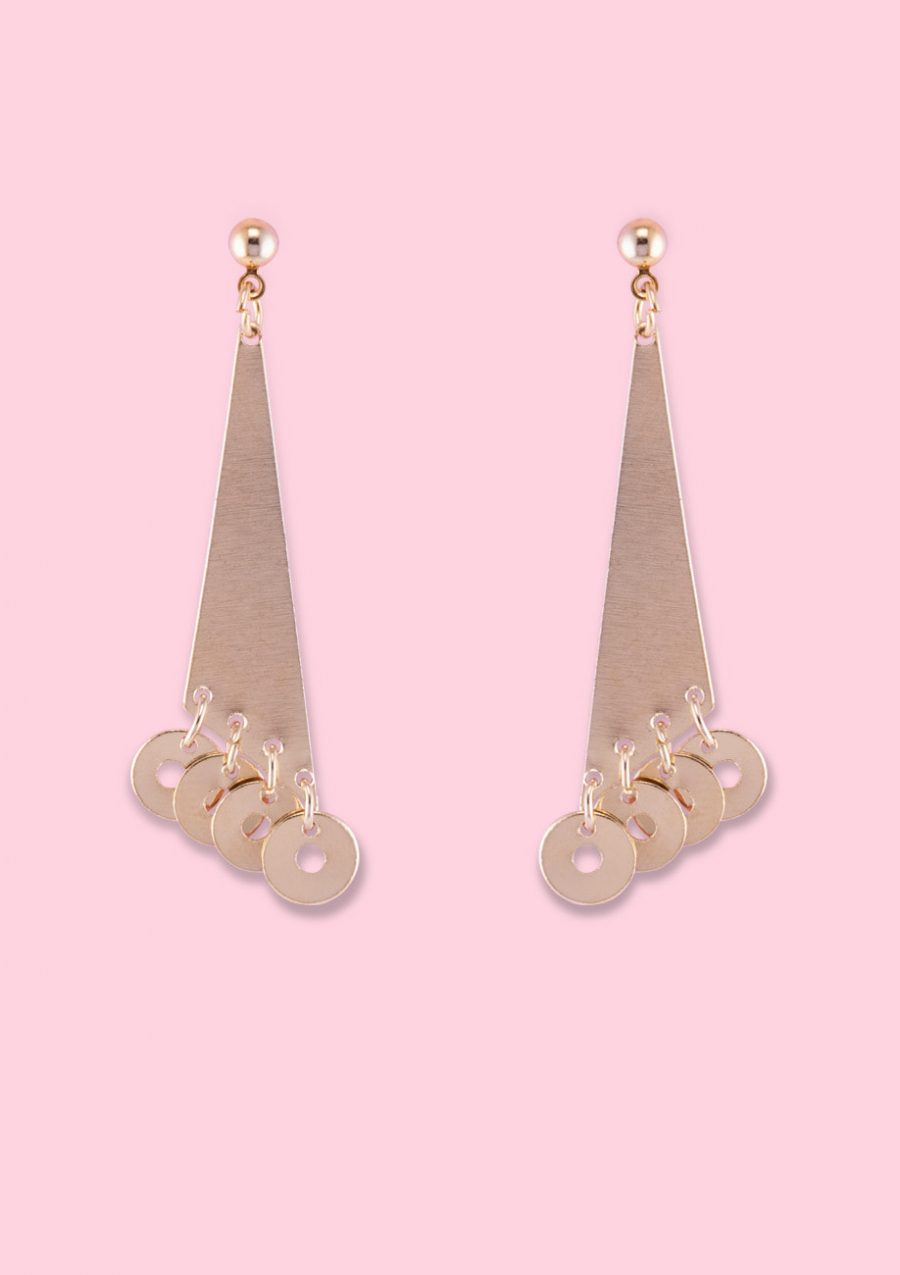 Fine abstract vintage earrings by live-to-express. Shop vintage earrings online.