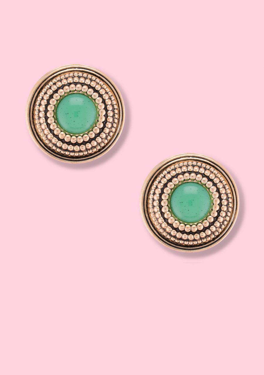 Classic-earring-vintage-LTE-Cellian's-stud-earring