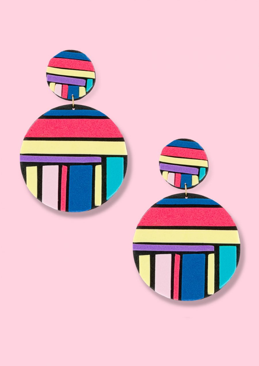 Vintage design earrings by live-to-express. Shop vintage statement earrings online.