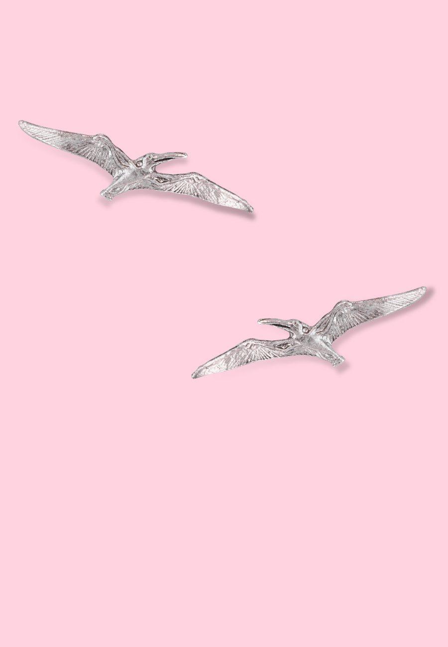 Vintage-dinosaurs-earrings-Pterano-studs