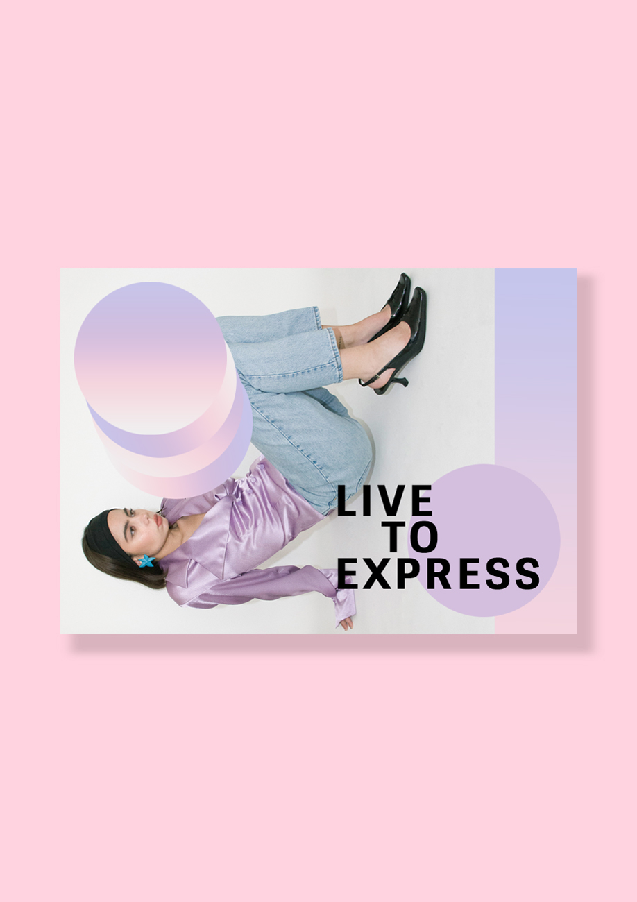 LIVE-TO-EXPRESS Vintage earrings gift card