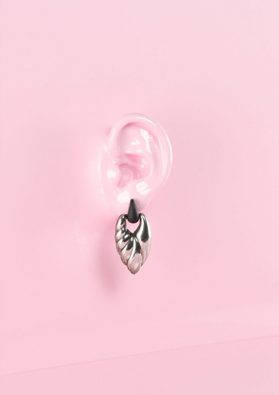Zilveren drop oorbellen, LIVE-TO-EXPRESS